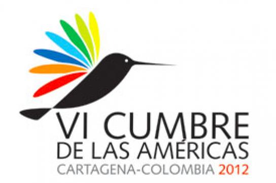 """Logo des """"Amerika-Gipfels"""""""