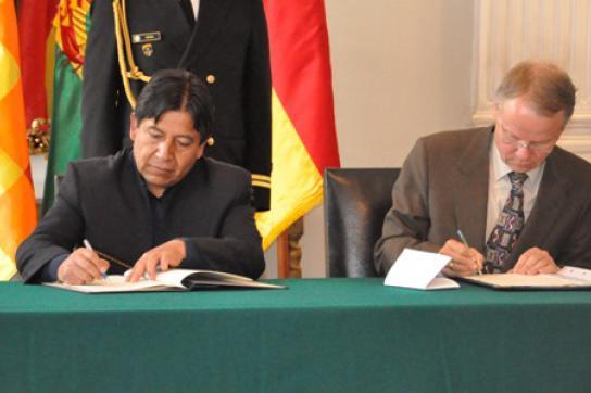 Unterzeichnung KfW-Darlehen