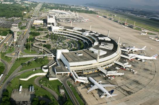 Internationaler Galeao-Flughafen in Rio de Janeiro