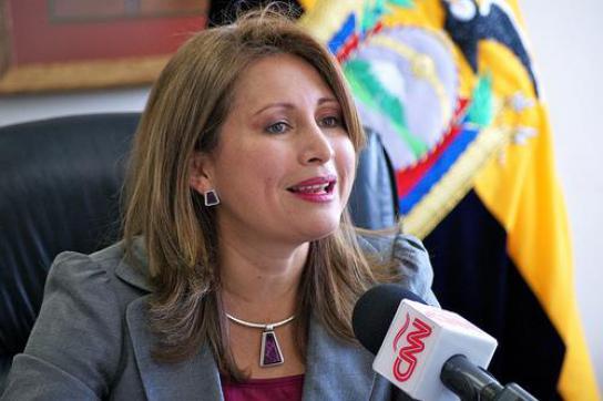 Ministerin Jaennette Sánchez