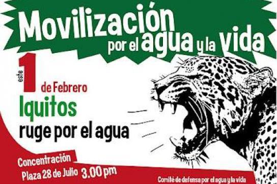 Plakat der Protestkampagne