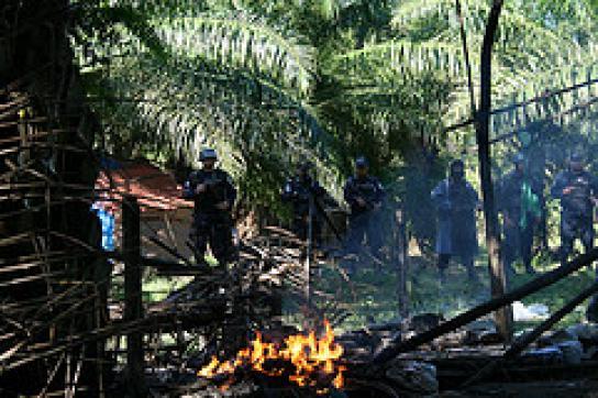 Gewaltsame Räumung einer Siedlung in Bajo Aguán