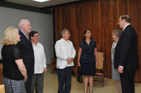 Treffen mit US-Senatoren