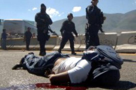 Repression gegen Studierende in Guerrero
