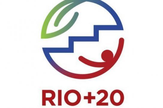 Logo des Rio+20-Gipfels