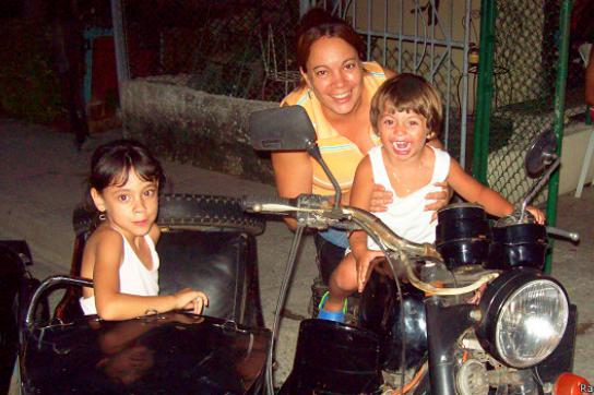 Der kleine Austin beim Kuba-Urlaub