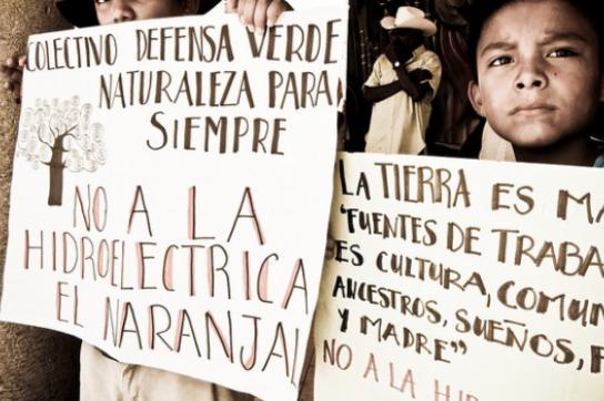 Protest in Amatlán de Los Reyes