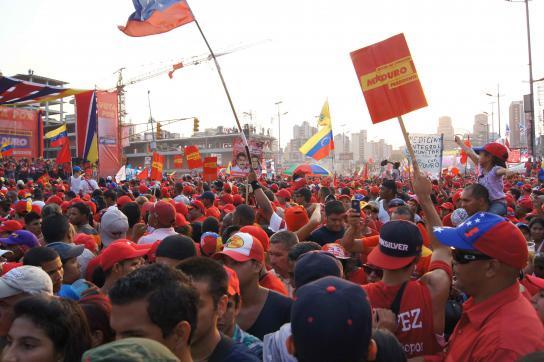 Abschluss der Wahlkampagne in Venezuela