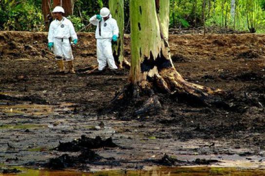 Schäden von Texaco/Chevron in Ecuador