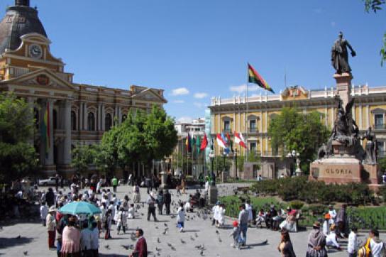 Plaza Pedro D. Murillo in La Paz
