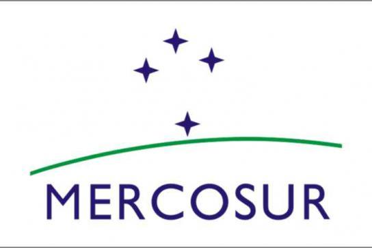 """Das Logo des """"Gemeinsamen Marktes des Südens"""""""