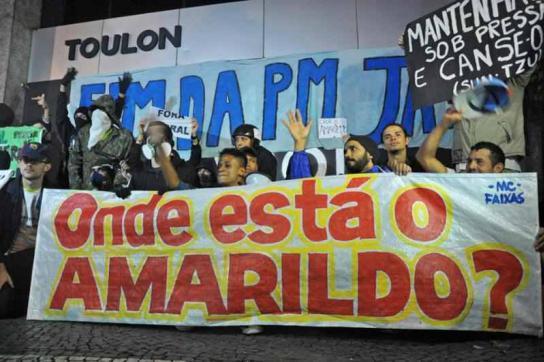 """Transparent: """"Wo ist Amarildo?"""""""