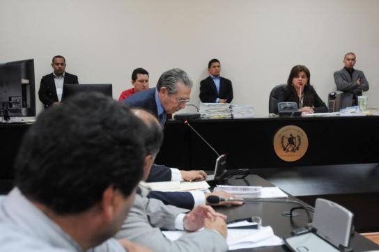 Prozess gegen Ríos Montt