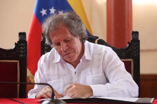 Uruguays Außenminister Luis Almagro