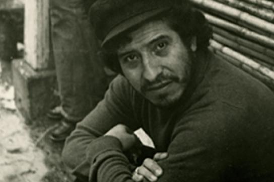 Victor Jara, der 1973 ermordete Komponist, Sänger und Aktivist