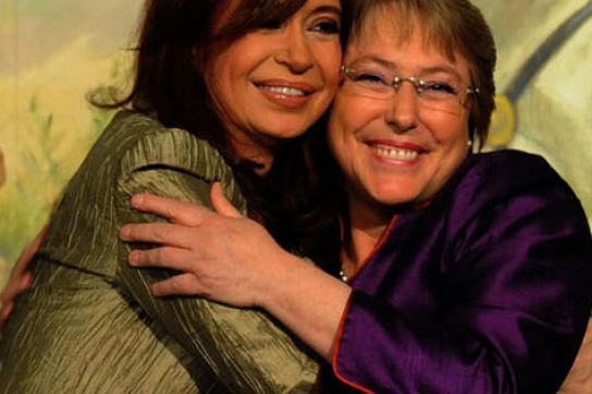 Kirchner und Bachelet