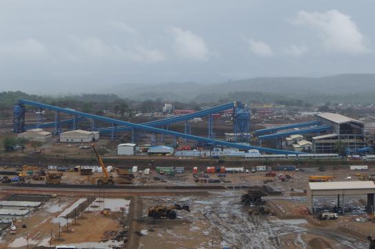 Kohlemine in Moatize, Mosambik