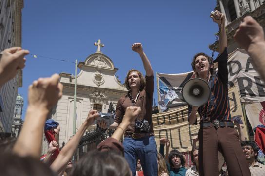 "Vor dem Putsch – Szene aus dem Film ""Colonia Dignidad"""