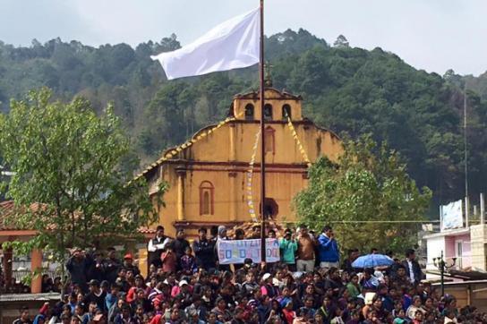 Indigener Aufstand in Oxchuc
