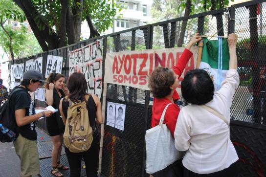 Die Suche nach den 43 verschwundenen Studierenden von Ayotzinapa hält an.