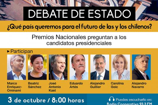 Debatte der Präsidentschaftskandidaten