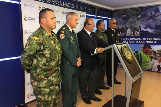 Festnahme von 16 Militärangehörigen