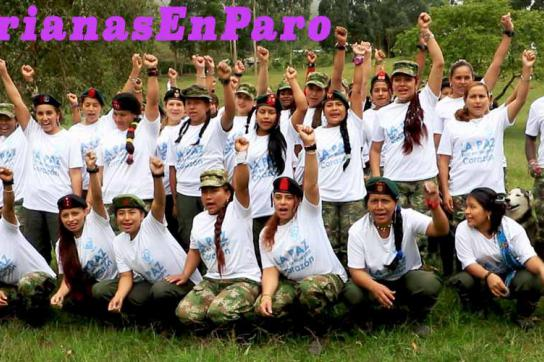 Frauen der Farc-EP in Kolumbien