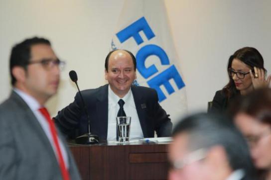 Der neue Generalstaatsanwalt von Ecuador, Carlos Baca