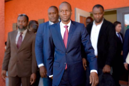 Jovenel Moïse, der neue Präsident von Haiti