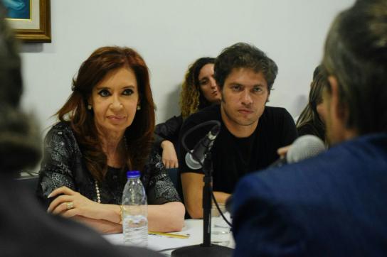 Cristina Fernández de Kirchner bei einer Veranstaltung in Argentinien