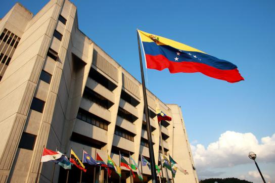 Sitz des Obersten Gerichtshofes von Venezuela in Caracas, Venezuela