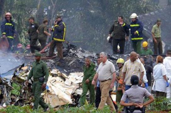 Flugzeugabsturz Havanna im Mai 2018