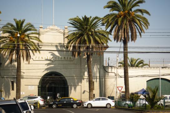 Haupteingang des Gefängnis von Santiago
