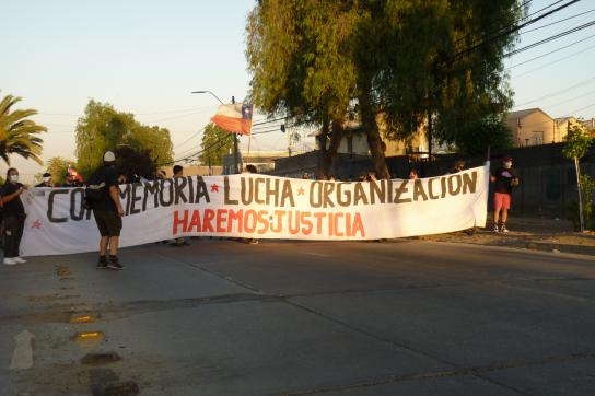 Demonstration in Renca