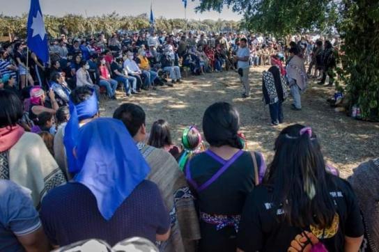 Mapuche Versammlung