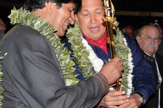 Morales startet zweite Amtszeit