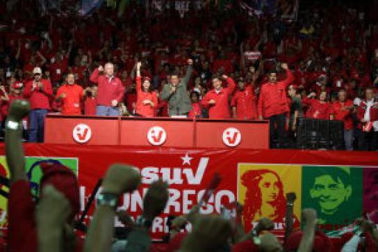 PSUV erwartet massive Beteiligung