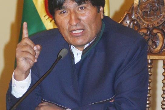 Autonomiestreben spaltet Bolivien
