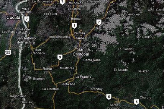 Bedrohung aus Kolumbien