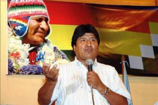 Boliviens Präsident im Hungerstreik