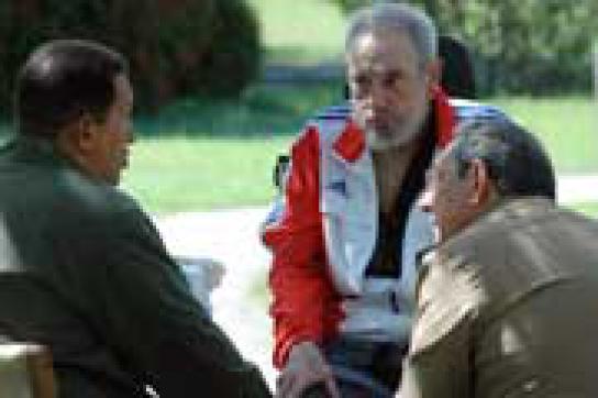Chávez auf Kuba