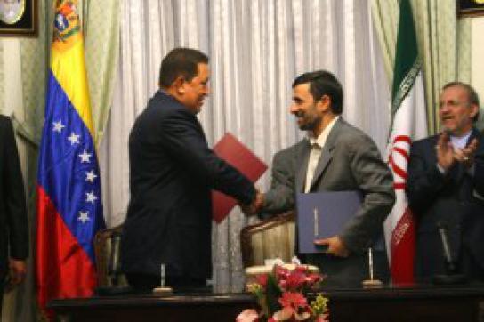 Chávez auf Auslandsreise