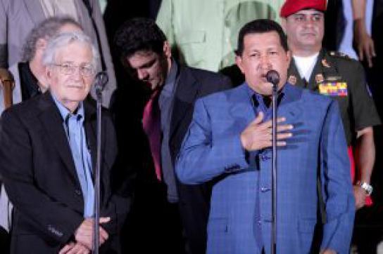 Noam Chomsky in Caracas