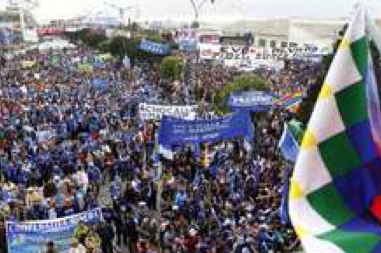 Bolivien vor der Wahl