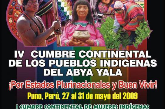 Indigene politisch gestärkt