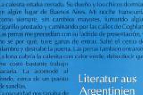 Argentinien literarisch