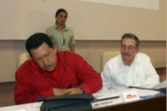 Kuba und Venezuela vertiefen ihre Beziehungen