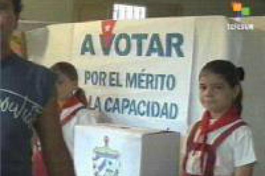 Kuba wählt