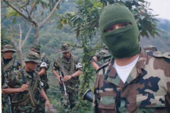 Kolumbianische Paramilitärs in Honduras
