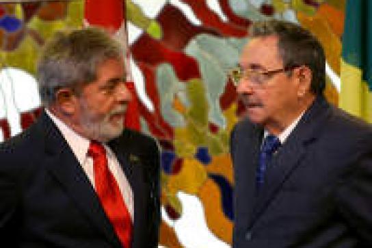 Präsident Lula besucht Kuba